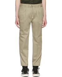 Pantalón de chándal marrón claro de Diesel