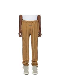 Pantalón de chándal marrón claro de Fear Of God