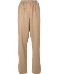 Pantalón de chándal marrón claro de Givenchy