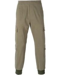 Pantalón de chándal marrón claro de Neil Barrett