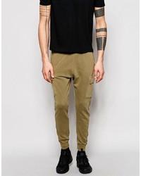 Pantalón de chándal marrón claro de Pull&Bear