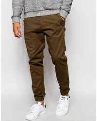 Pantalón de chándal marrón de Jack and Jones