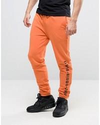 Pantalón de Chándal Naranja de Asos