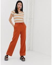 Pantalón de chándal naranja de Monki