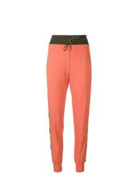 Pantalón de chándal naranja de Mr & Mrs Italy