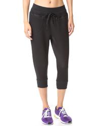 Pantalón de chándal negro de adidas by Stella McCartney