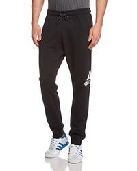 Pantalón de chándal negro de adidas