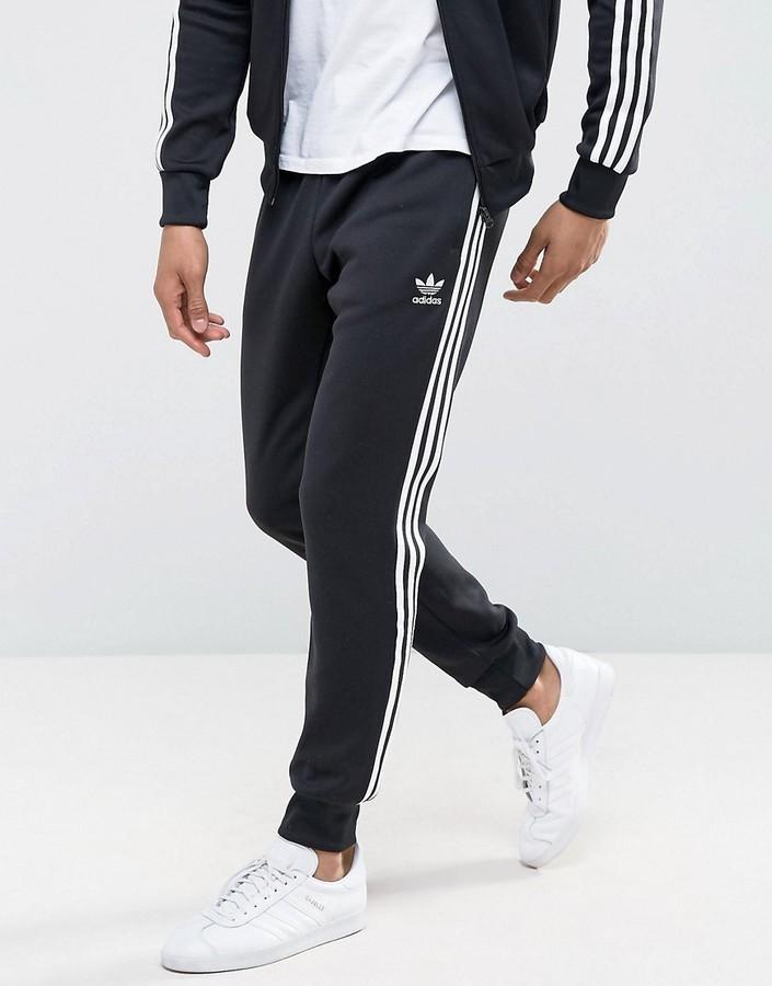 Negro Chándal Adidas De Pantalón nN8XPkw0O