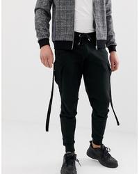 Pantalón de chándal negro de ASOS DESIGN
