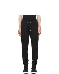 Pantalón de chándal negro de Balmain