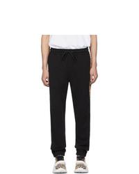 Pantalón de chándal negro de Burberry