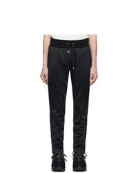 Pantalón de chándal negro de Dolce and Gabbana
