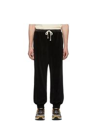 Pantalón de chándal negro de Gucci