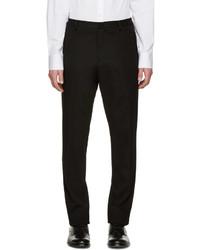 Pantalón de chándal negro de Jil Sander