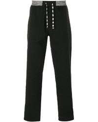 Pantalón de chándal negro de Missoni