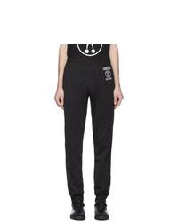 Pantalón de chándal negro de Moschino
