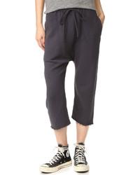 Pantalón de chándal negro de R 13
