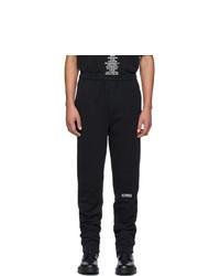 Pantalón de chándal negro de Vetements