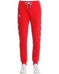 Pantalón de chándal rojo