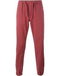Pantalón de chándal rojo de Eleventy