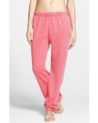 Pantalón de chándal rosa