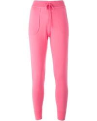 Pantalón de chándal rosa de Theory