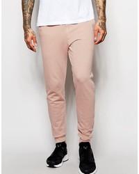 Pantalón de chándal rosado