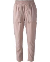 Pantalón de chándal rosado de adidas by Stella McCartney