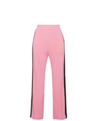 Pantalón de chándal rosado de Ganni