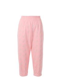 Pantalón de chándal rosado de Gcds