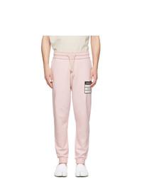 Pantalón de chándal rosado de Maison Margiela