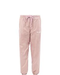 Pantalón de chándal rosado de Natasha Zinko