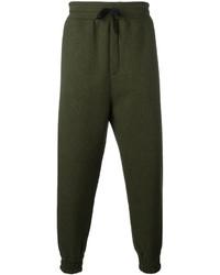 Pantalón de chándal verde oliva de AMI Alexandre Mattiussi