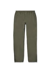 Pantalón de chándal verde oliva de Helmut Lang