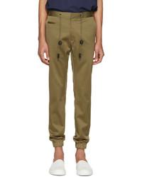 Pantalón de chándal verde oliva de Marc Jacobs