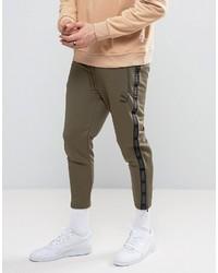 Pantalón de chándal verde oliva de Puma