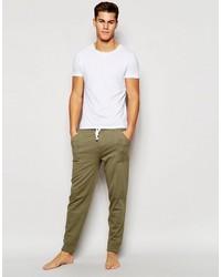 Pantalón de chándal verde oliva de Tommy Hilfiger