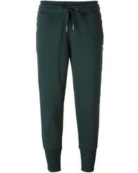Pantalón de chándal verde oscuro de adidas by Stella McCartney