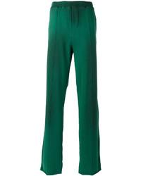 Pantalón de chándal verde de MSGM