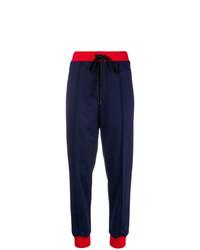 Pantalón de pinzas azul marino de Marni
