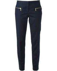Pantalón de pinzas azul marino de MICHAEL Michael Kors