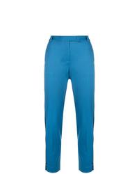 Pantalón de pinzas azul de Styland