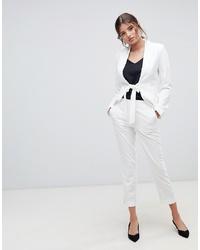 Pantalón de pinzas blanco de Millie Mackintosh