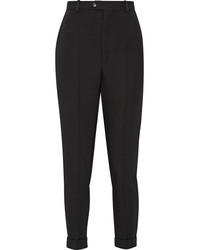 Pantalón de pinzas de lana negro de Isabel Marant