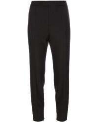 Pantalón de pinzas de lana negro de RED Valentino