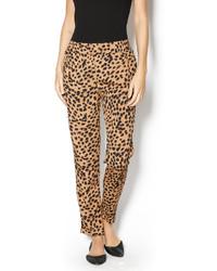 Pantalon de pinzas de leopardo original 10597524