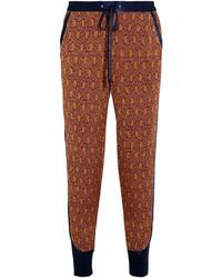 Pantalón de pinzas de seda rojo de 3.1 Phillip Lim
