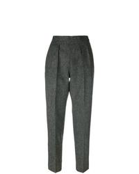 Pantalón de pinzas en gris oscuro de Maison Margiela