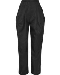 Pantalon de pinzas gris oscuro original 10583891