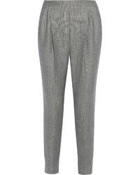 Pantalón de pinzas gris de Fendi